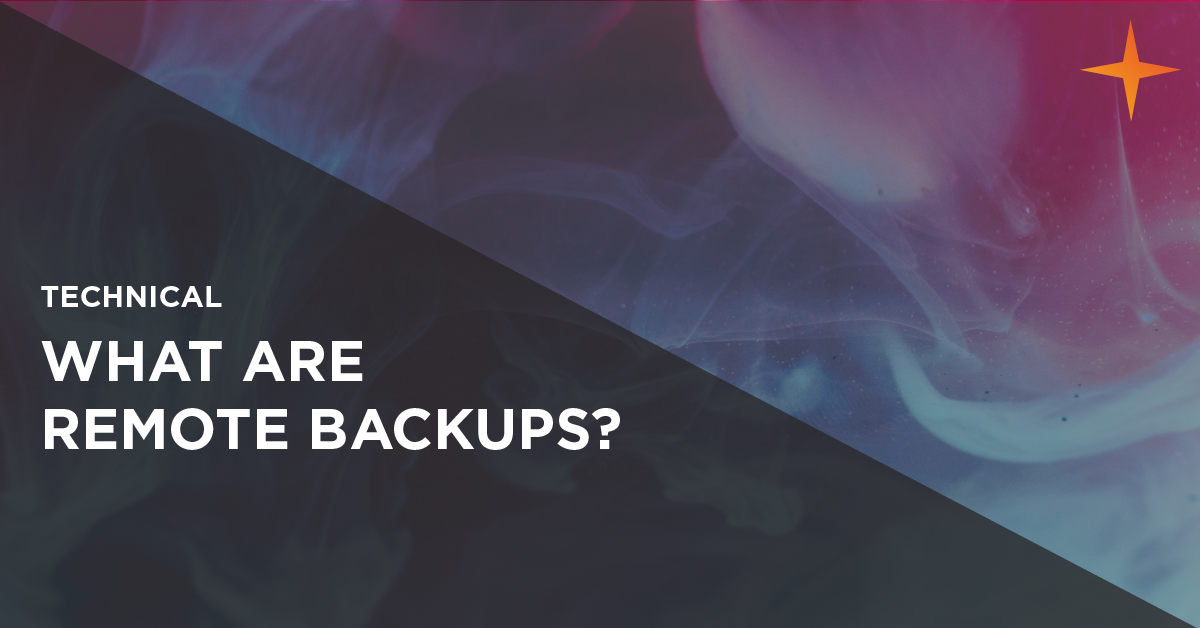 what are remote backups