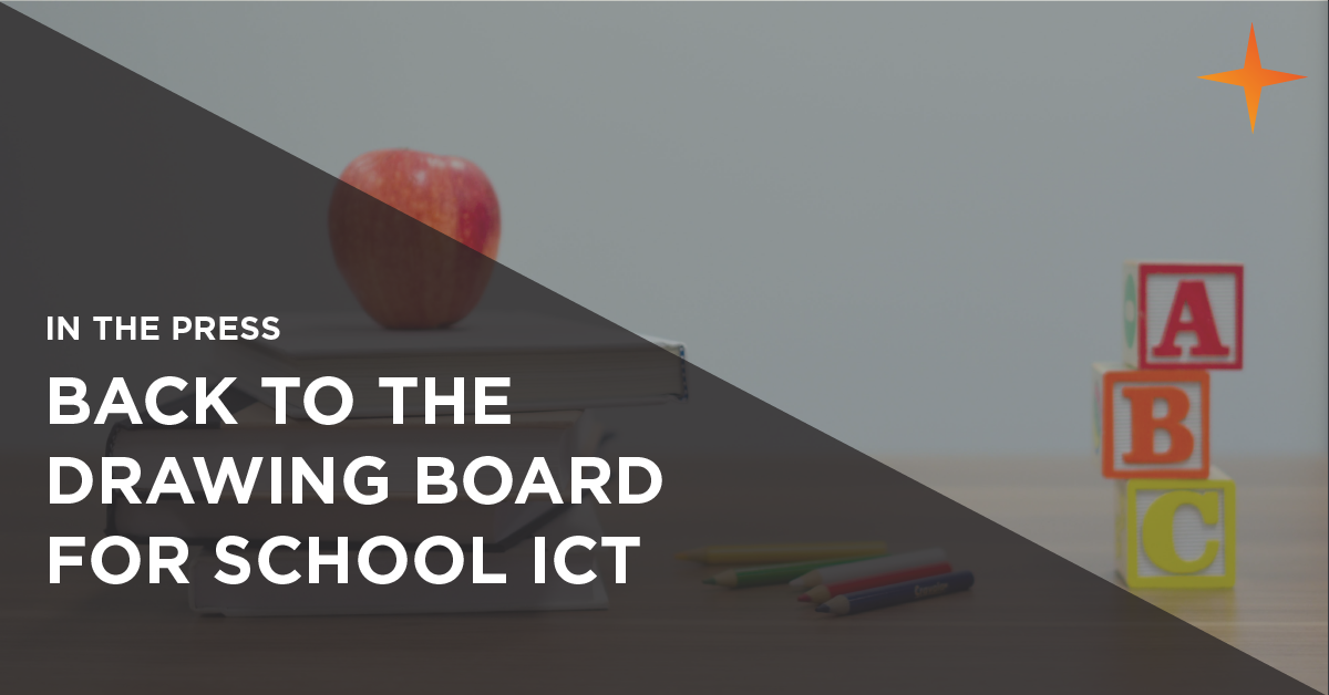back to the drawing board for school ict