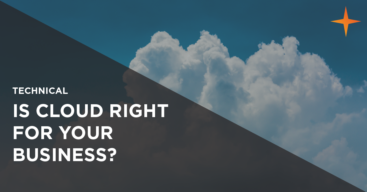 Is cloud computing right for your business?