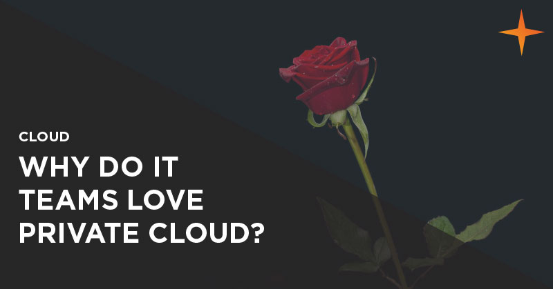 Cloud - Why do IT teams love private cloud?