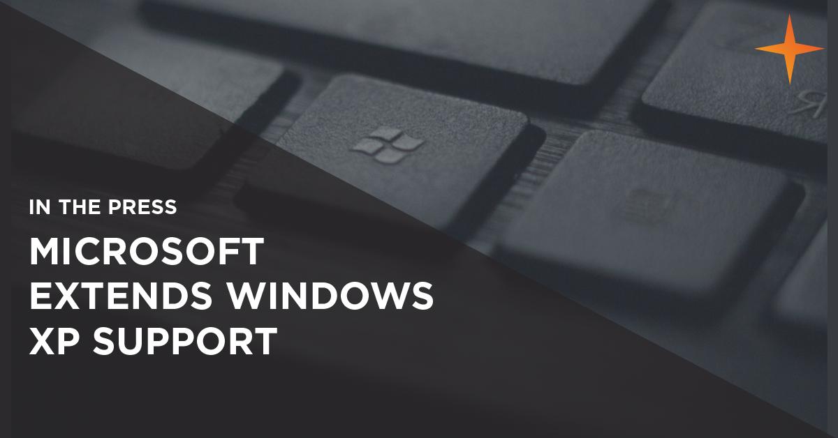 microsoft extends windows xp support
