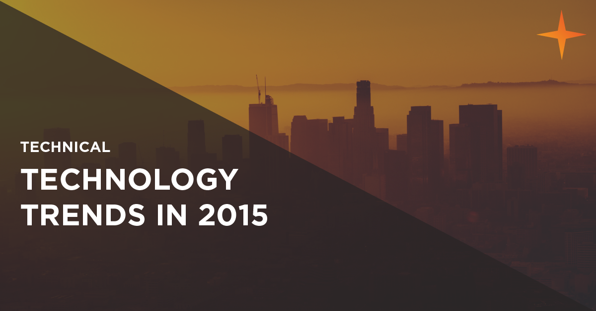 technology trends for 2015