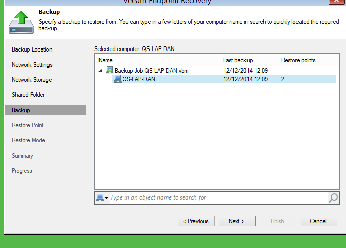 veeam endpoint backup free veeam endpoint recovery