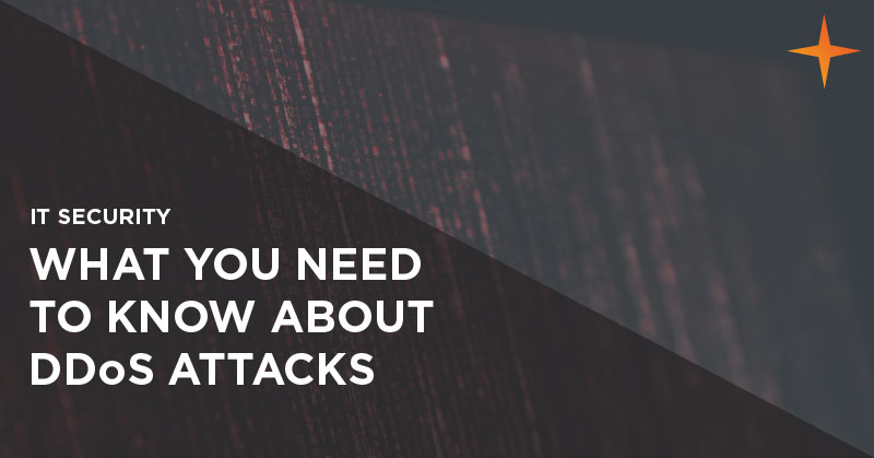 IT security - What you need to know about DDoS attacks
