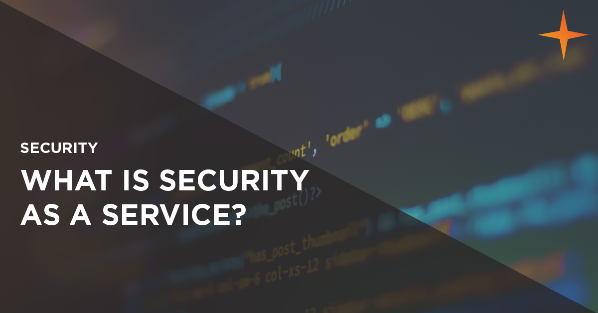 what is security as a service