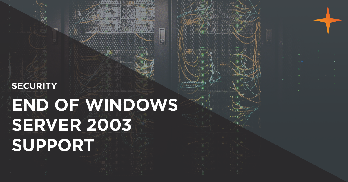 end of windows server 2003 support