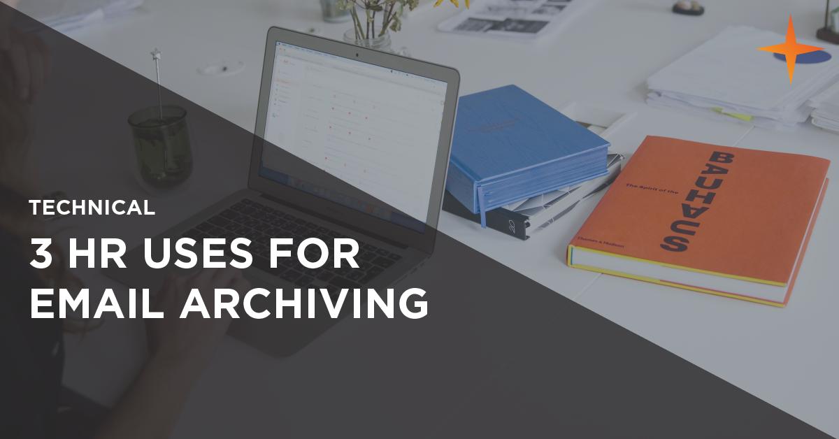 3 hr uses for email archiving