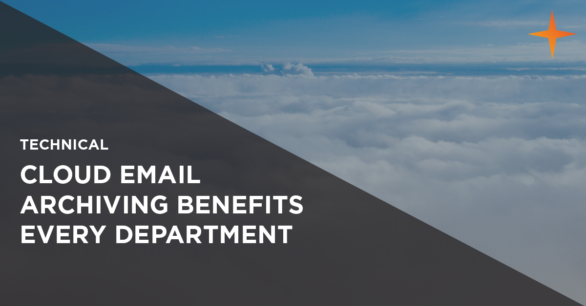 benefits cloud email archiving