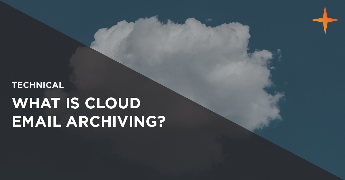 what is cloud email archiving
