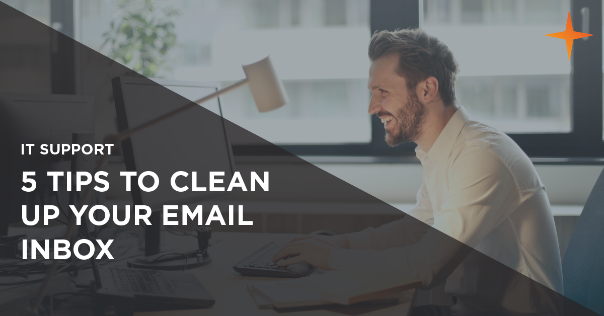 how to clean up your email inbox