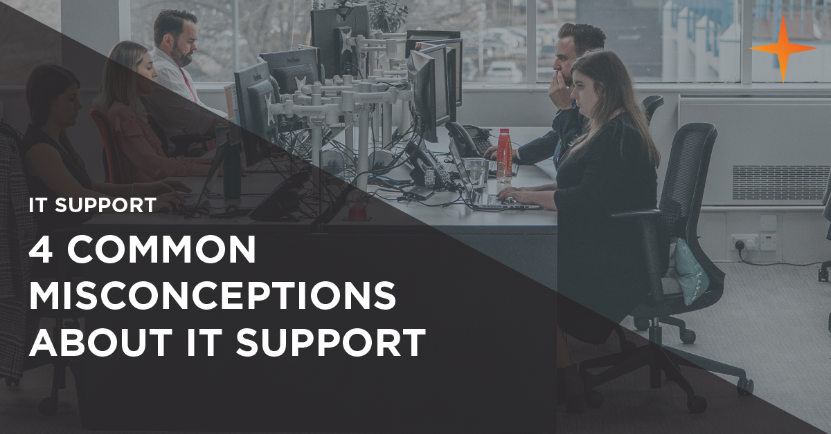 common misconceptions about it support