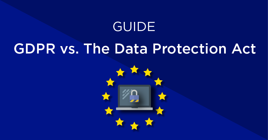 what are the differences between the gdpr and the data protection act