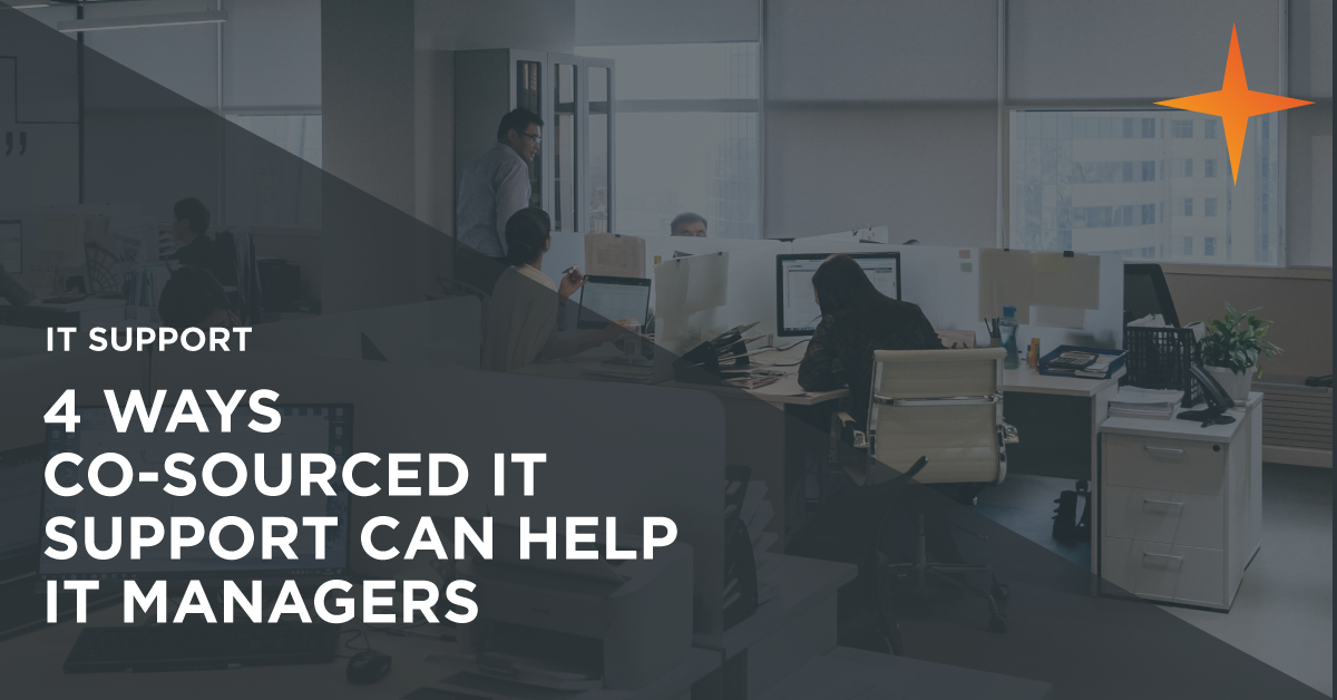 How can co-sourced IT support help IT Managers