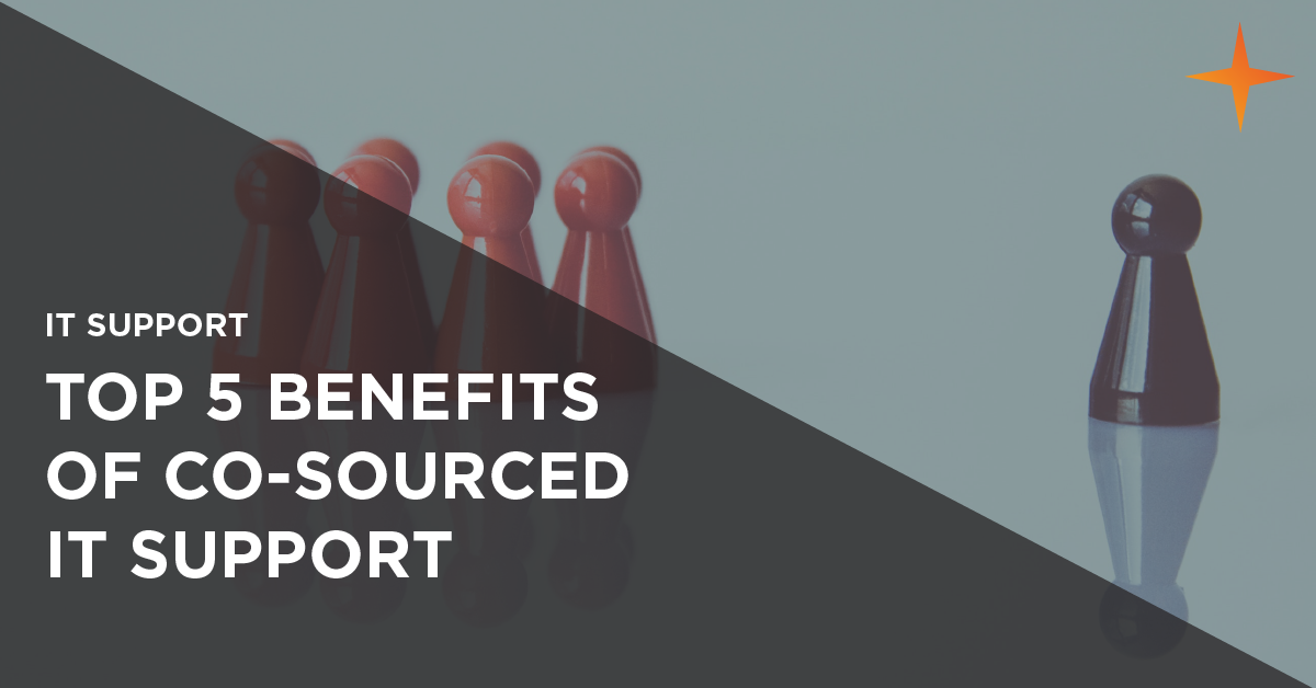 5 benefits of cosourcing IT support