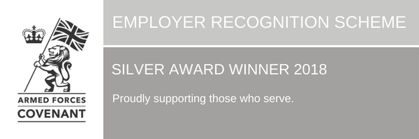 QuoStar achieves Silver Employer Recognition Scheme Award