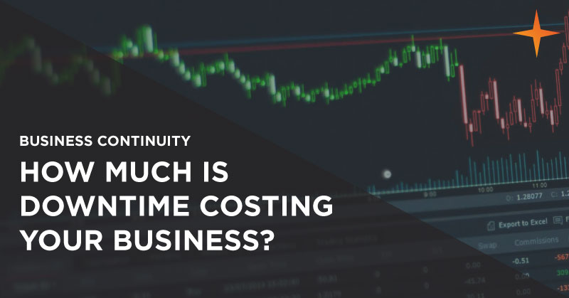 Business continuity - How much downtime is costing your business