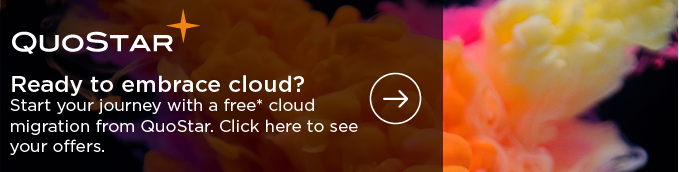 Ready to embrace cloud? Start your journey with a free migration from QuoStar