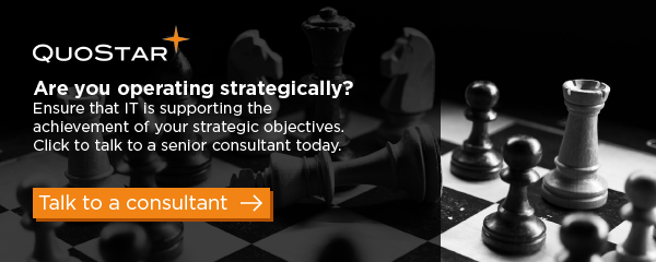 Click here to speak to a QuoStar Senior Consultant about IT projects and strategy
