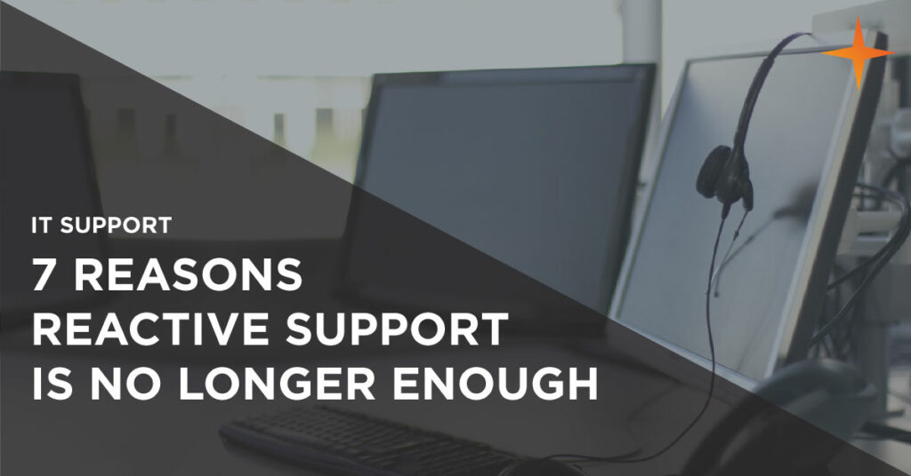 reactive it support is dead