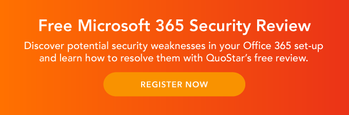 Free Microsoft 365 Security Review. Discover potential security weaknesses in your Office 365 set-up and learn how to resolve them with QuoStar's free review. Click here to register