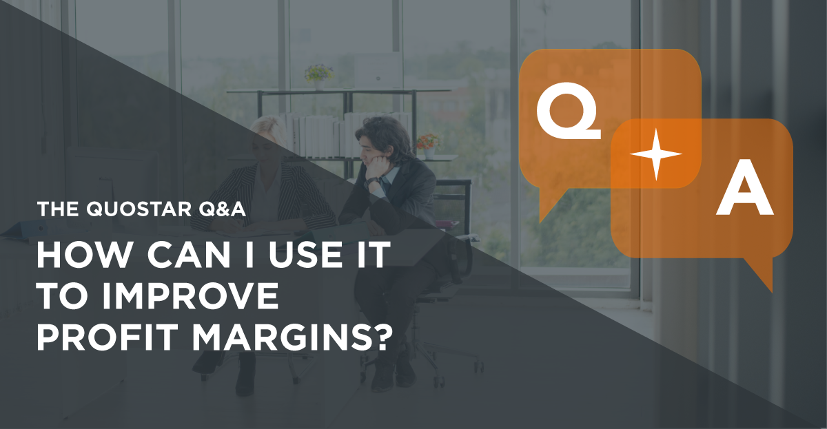 How to use IT strategically to improve profit margins
