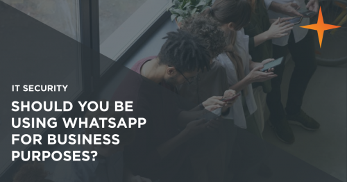 Are you using WhatsApp for business communications? 2021 is the year to stop
