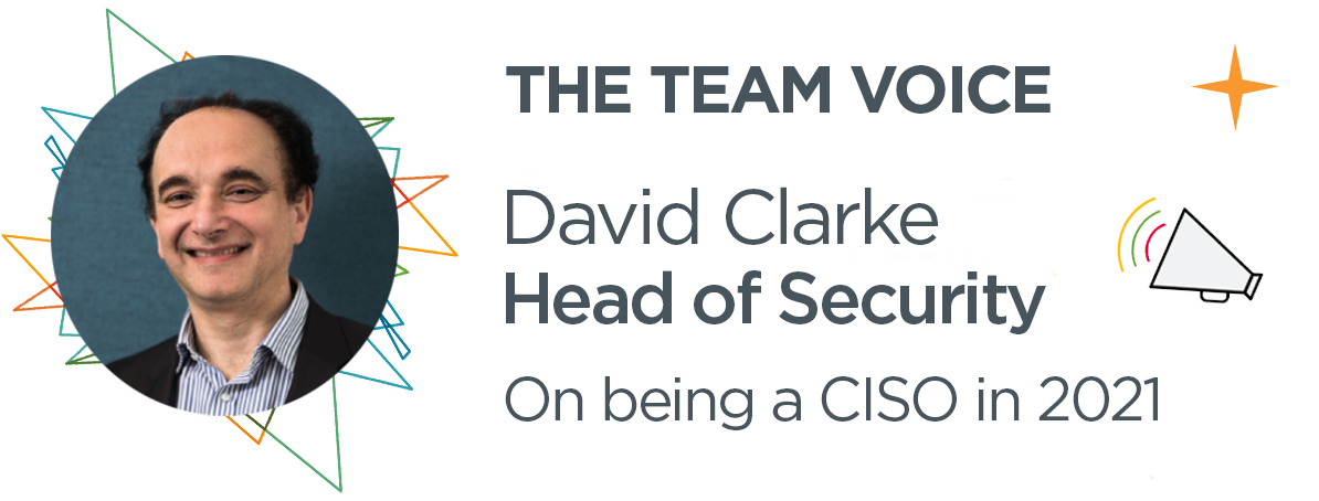 Being a Ciso - David Clarke
