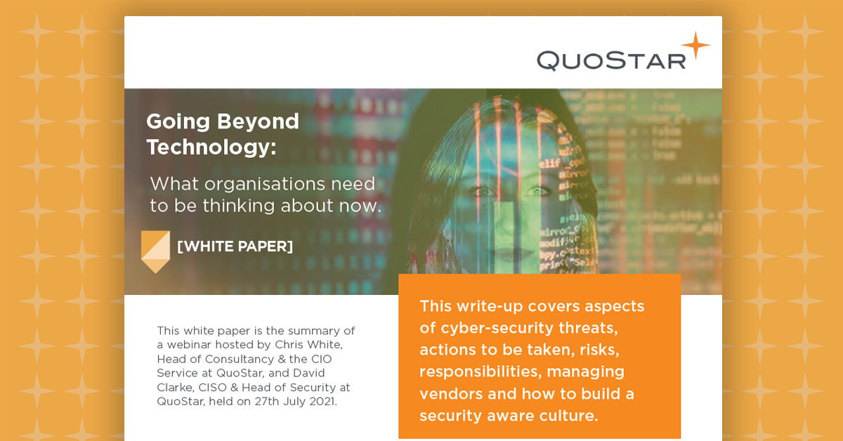 white paper Going Beyond Technology