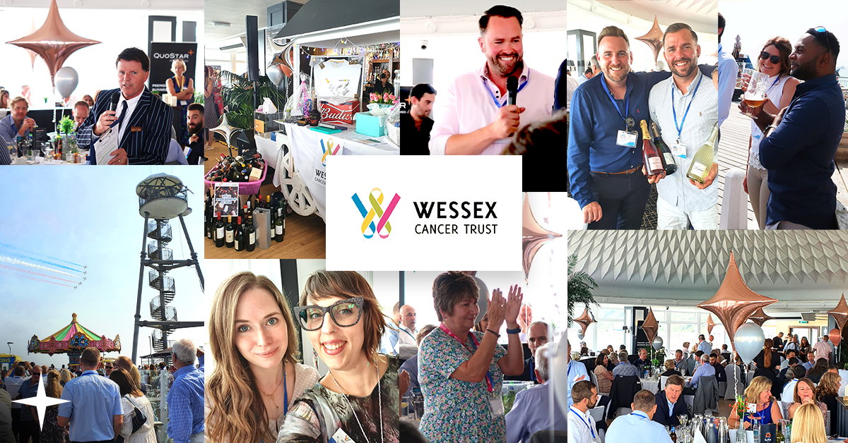 Wessex Cancer Trust flying high after QuoStar-sponsored fundraiser